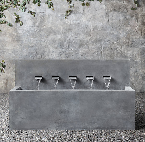 Coming Spring 2016: Gorgeous Zinc Fountains