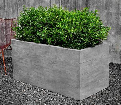 Chenes Brut Long Box Planter $990