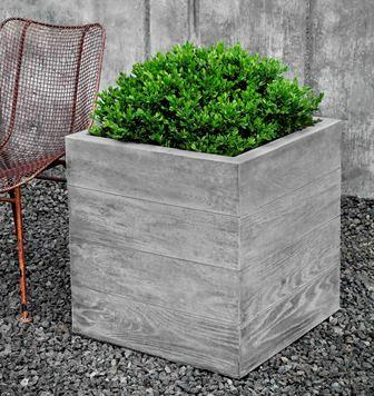 Chenes Brut Box Planter $510