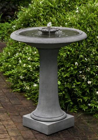 Camellia Birdbath Fountain