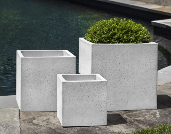 Laguna Square Planter $440/Set