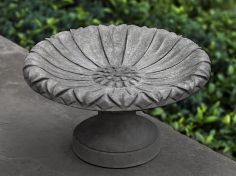 Lotus Small Birdbath $54.95