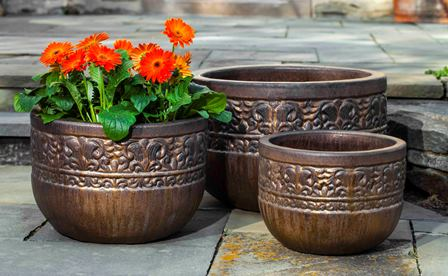 Quebrada Planter $360/Set of 3