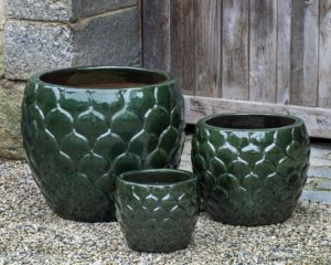 Pina Planter, Spruce $510/Set of 3