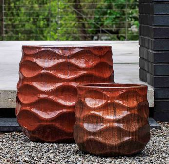 Rumba Planter, Sunset Red