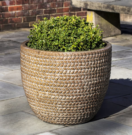 Sisal Weave Planter, Cafe au Lait $395/Set of 3