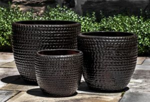 Sisal Weave Planter, Cola $395/Set of 3