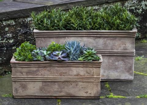 Antico Rectangular Planter