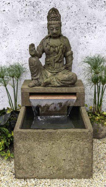 Antique Quan Yin Fountain