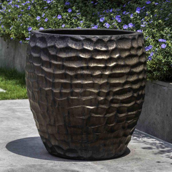 Kowloon Planter - Bronze