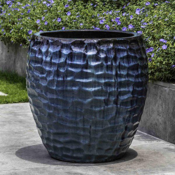 Kowloon Planter - Mediterranean Blue