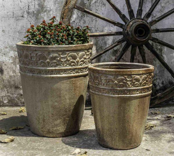 Copelia Planter - Rustic Ironstone Sand