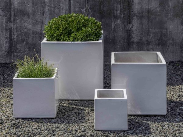 Hancock Planter - White