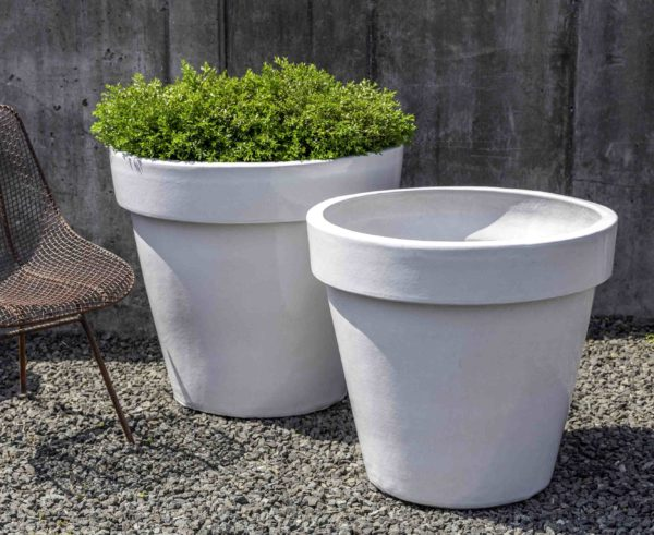 Midtown Planter - White
