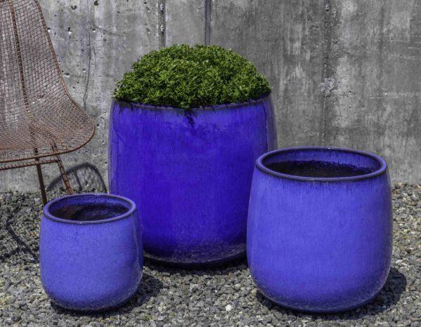 Potrero Planter - Riviera Blue