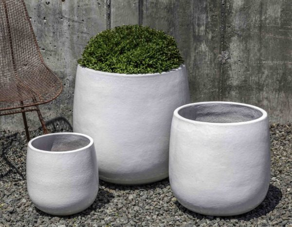 Potrero Planter - White