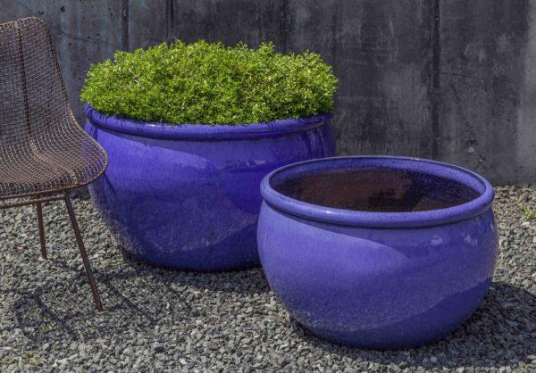 Reseda Planter - Riviera Blue