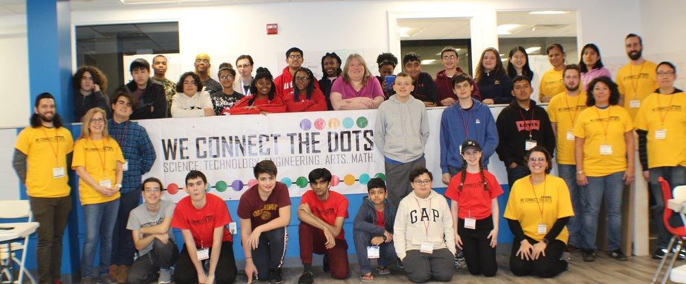 Westbury, NY 2019 Code-A-Thon Participants