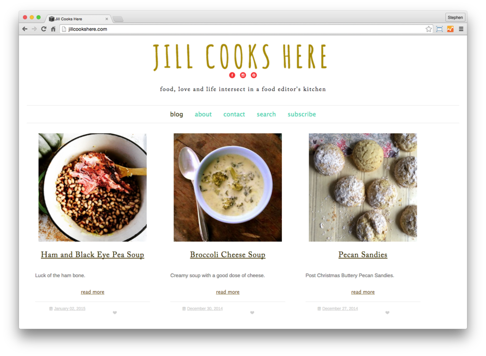 Copy of Jill Cooks Here
