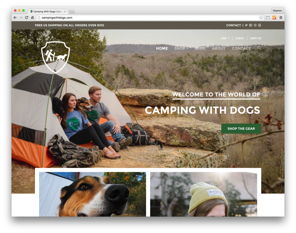 Copy of Camping With Dogs