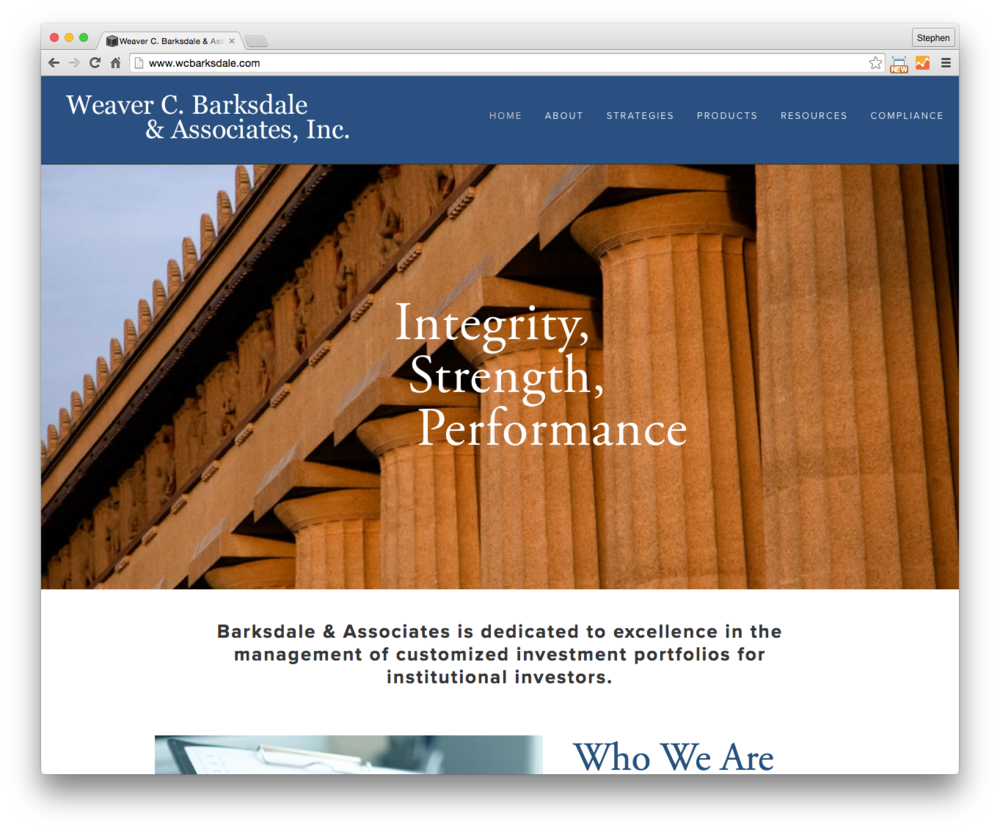 Weaver C. Barksdale & Associates, Inc.