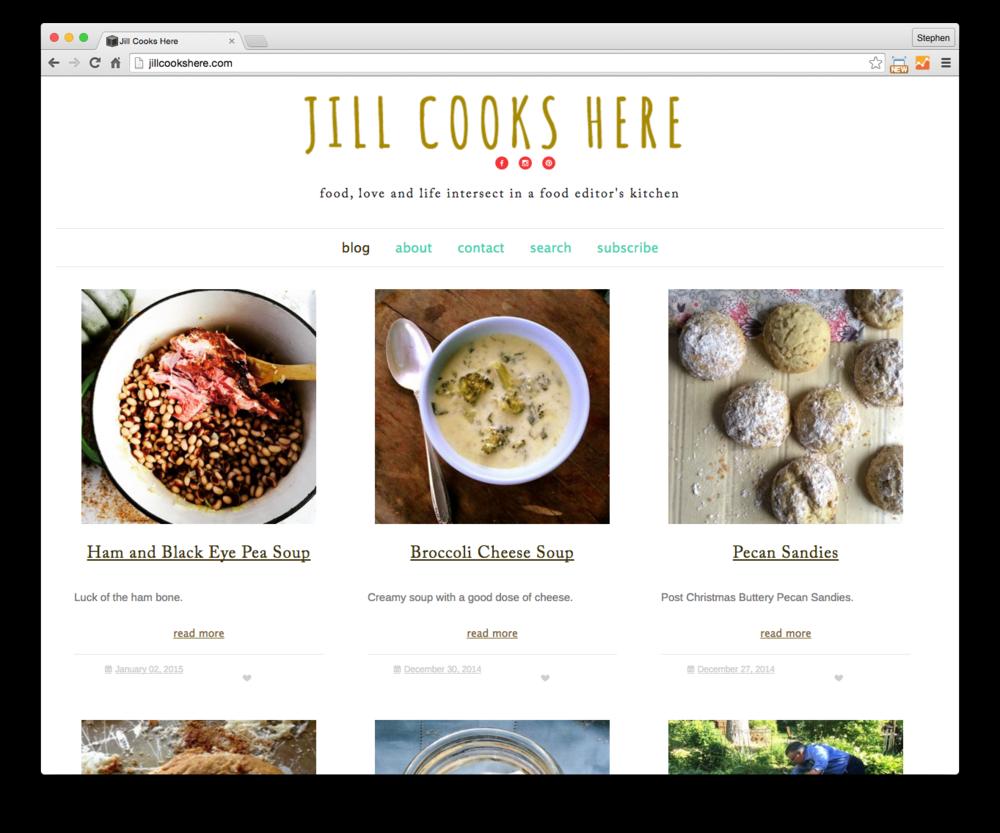 Jill Cooks Here