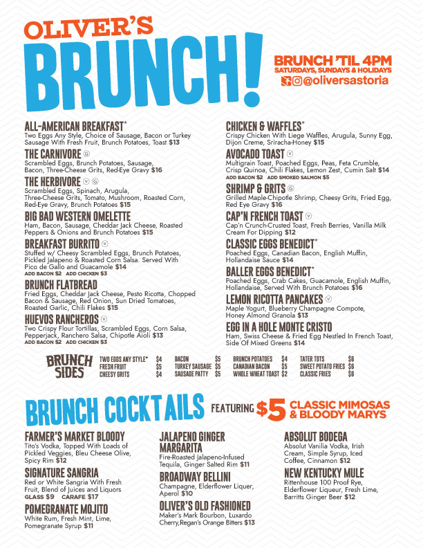 Best brunch in astoria queens