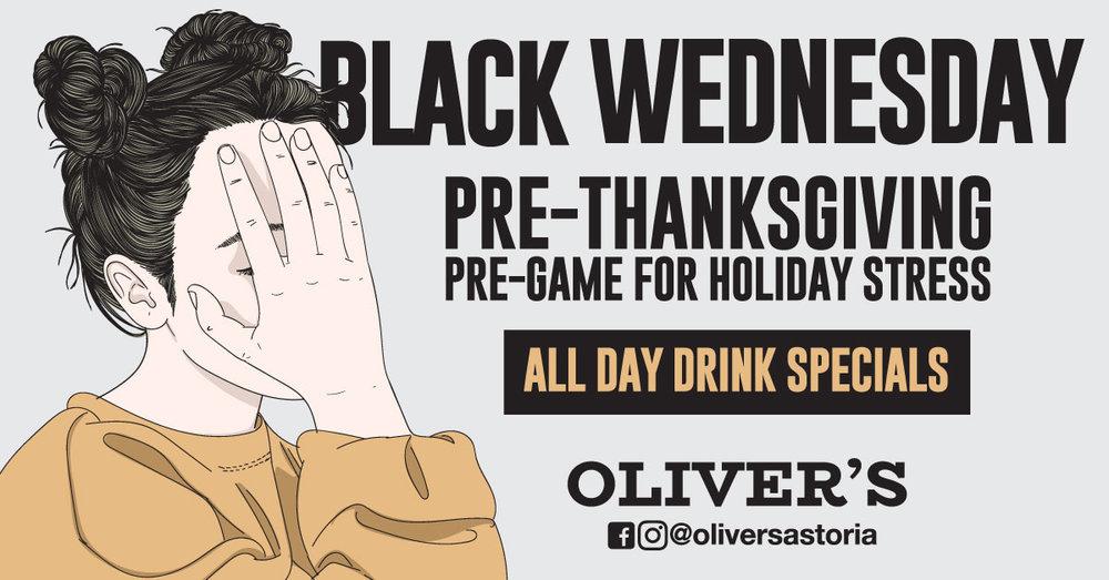 Pre-Thanksgiving Party Astoria
