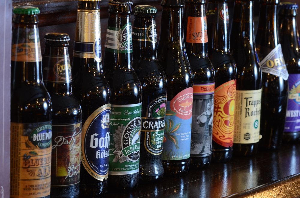 Local & imported craft beers from all around the globe!
