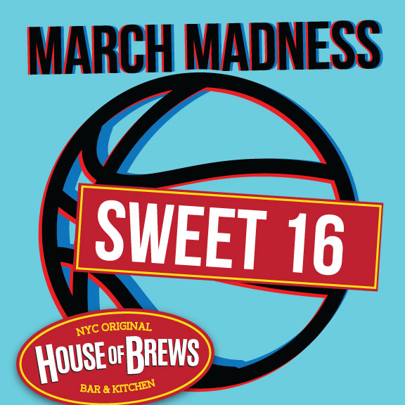 watch sweet 16 games sport bar times square nyc