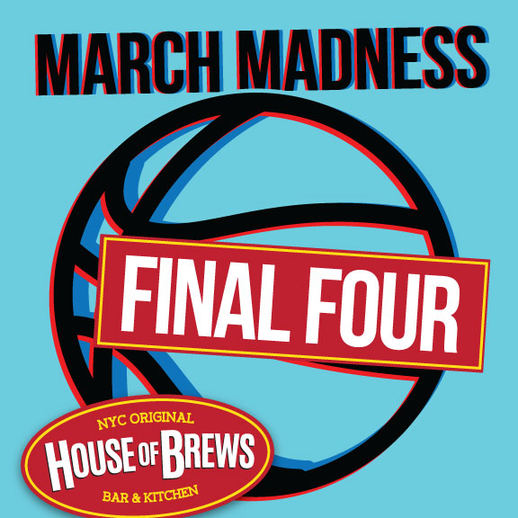 Watch Final Four midtown nyc sports bar near tiems square