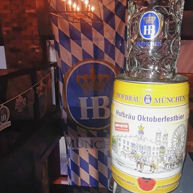 It's our first trivia Tuesday of #oktoberfest !  Come in on this rainy day and enter for your chance to win a #hofbräu mini keg of #oktoberfestbier  Increase your chances of winning by answering the bonus question at the door.  What year was the first Oktoberfest?  #triva #TriviaNight #HoB #brewsnyc #rainyday