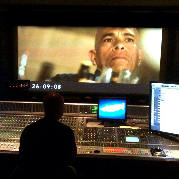 "Bad Man's Son's first feature film ""Avenues"" final sound mix. #AvenuesFilm #IndependentFilm #FeatureFilm #Film #Drama @AarefRodriguez"