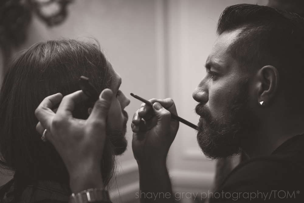 Esteban Ortiz , Director of Makeup for TOM*