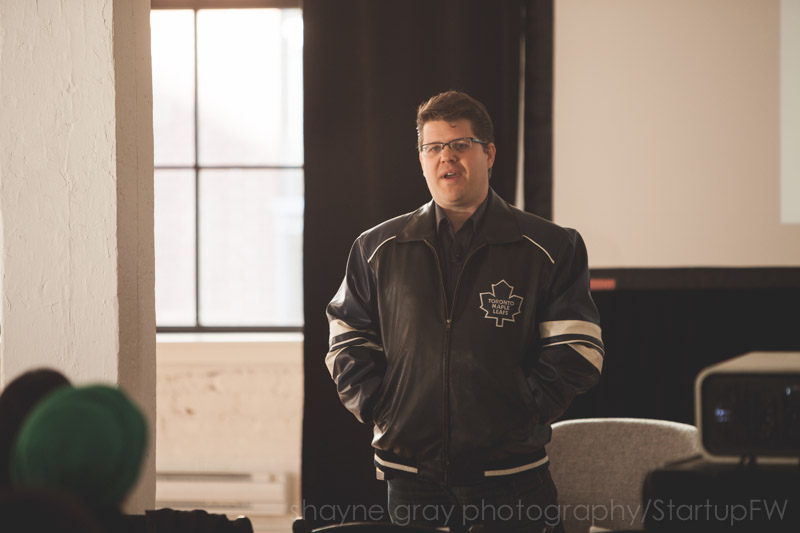 Kinetic Café cofounder Chris Carder