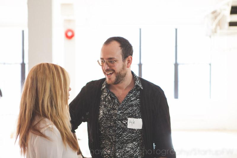 Jodi Goodfellow with Kyle Kofsky of PRODUCT Toronto