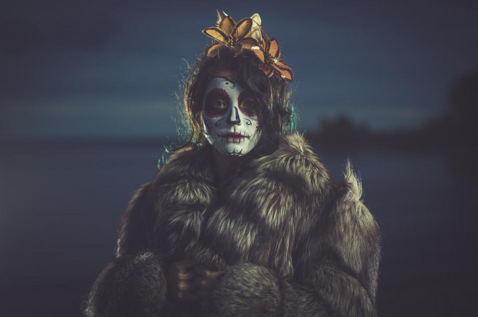 Makeup artist and model, Jocelyn Santos