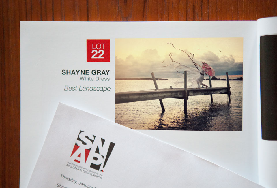White Dress, winner in the category Best Landscape, SNAP! Toronto 2015