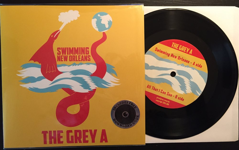 "Original vinyl 7"" artwork created for the 2016 single release"