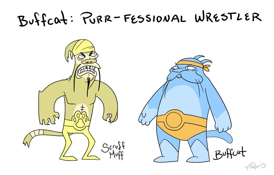 Buffcat (2013-2014) Character Designs