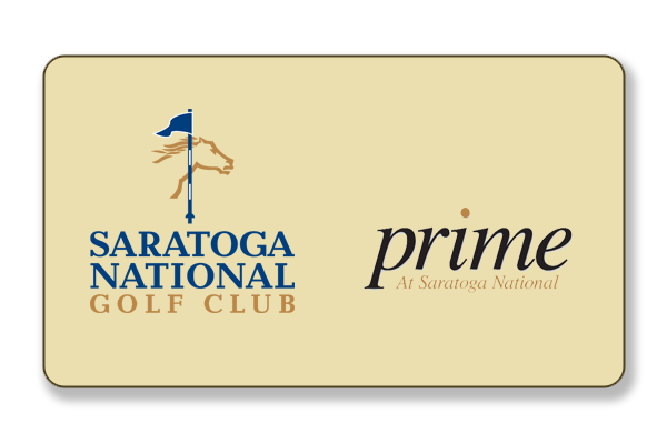 Gift Cards can be purchased for any dollar amount you choose, and can be used for Golf Instruction, or throughout the facility at Saratoga National Golf Club.