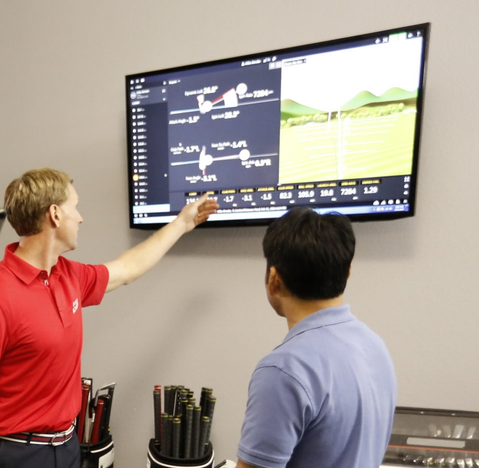 TrackMan is used in all indoor sessions.  Train your game using the latest in Radar Technology.