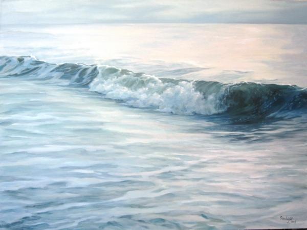 """Daybreak II"", oil on canvas, 36 x 48, NFS"