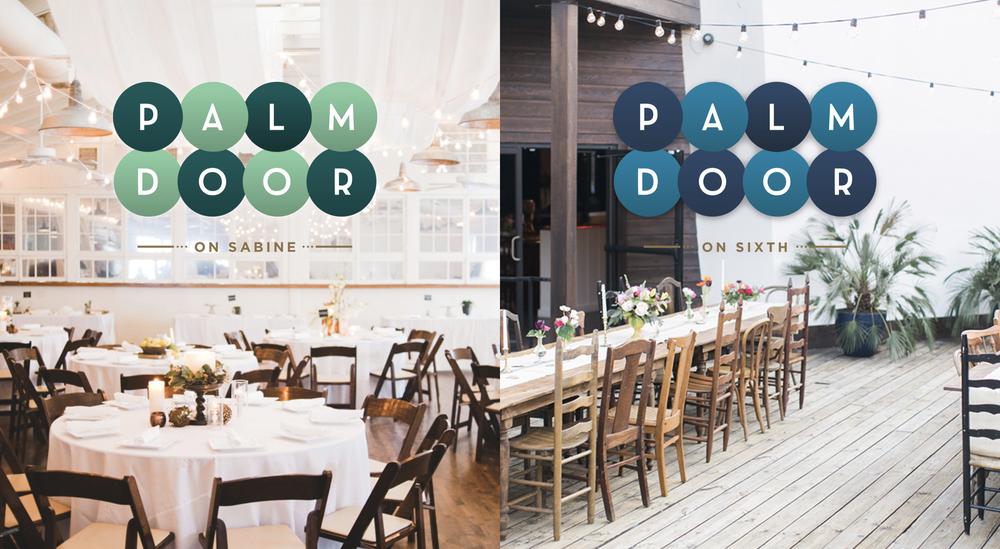 palmdoor-logos.png & Jonathan T. Davis | Art Director \u003e Palm Door