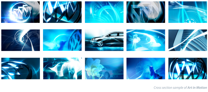 Buick brand - Short Abstract Film Art direction - Motion graphics for Buick Press only event
