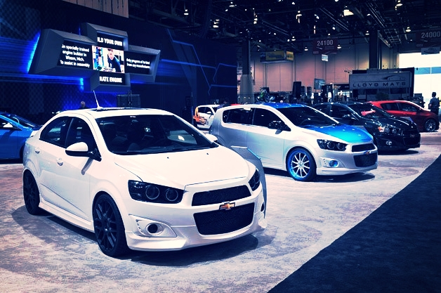 Chevrolet at the SEMA Show 2012 / 2013 Design of Environment Graphics and Exhibit Properties