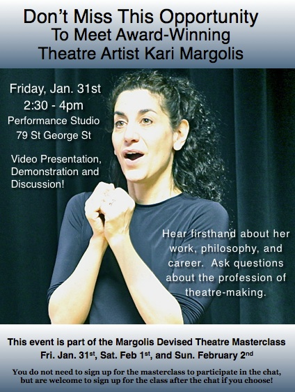 Kari Margolis Toronto Lecture Demonstration
