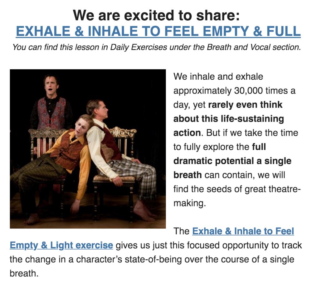 Margolis Method Exhale Inhale Empty Full