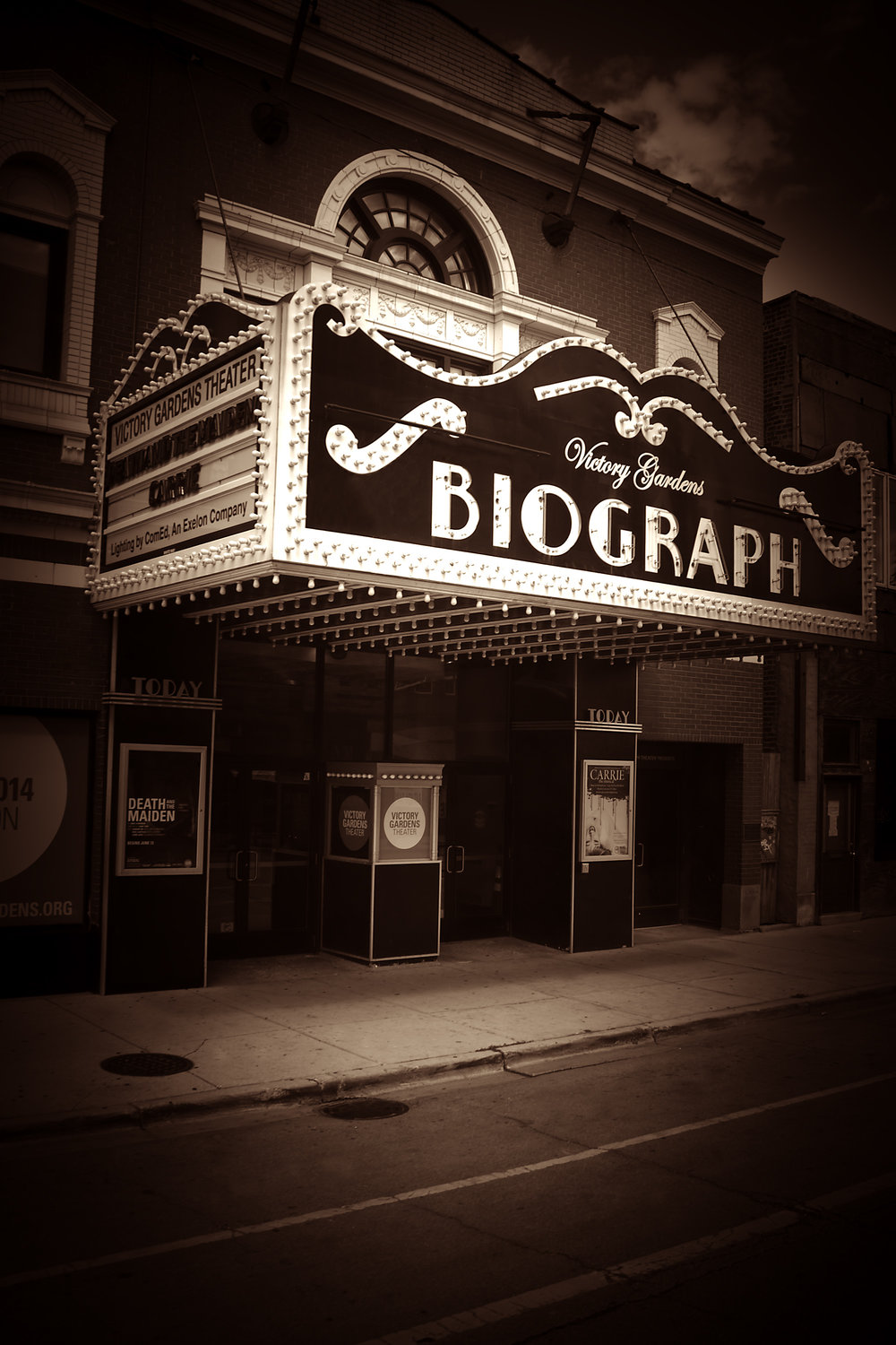 Biograph Theater in Chicago, IL   #publicenemynumberone1934