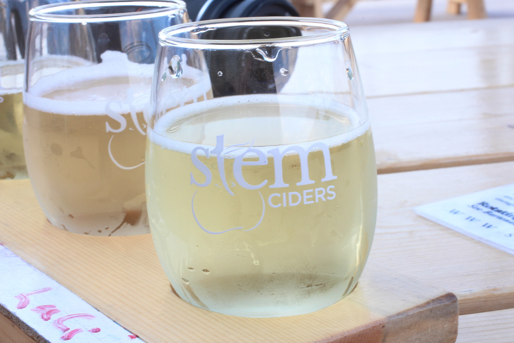 Stem Ciders. A side of cider that I never knew existed, not your typical flavored sparkling apple juice crap.